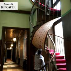 DP spiral stairway
