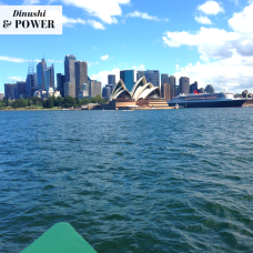 DP Sydney on a boat